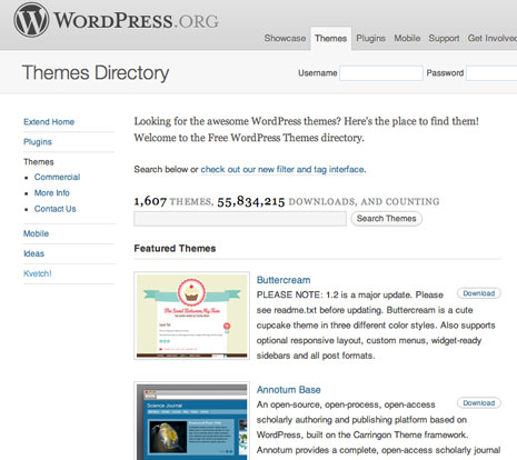 1607 WordPress Themes