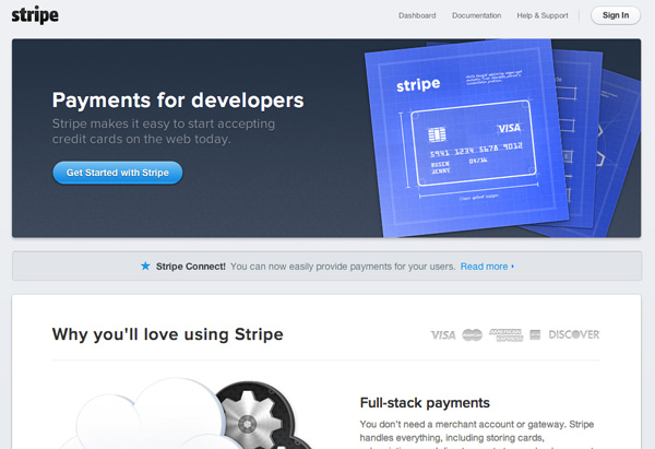 Stripe Screenshot