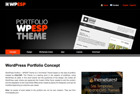 WPESP WordPress Theme